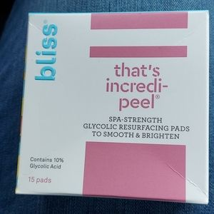 Thats incredipeel! Resurfacing pads - bliss